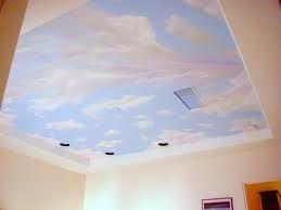 Раскрашиваем потолок своими руками 96