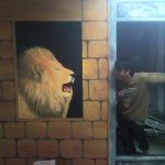 Lukis dinding cafe